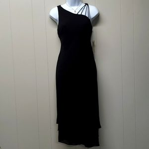 Evan-Picone Marco Island Black Dress Size 4